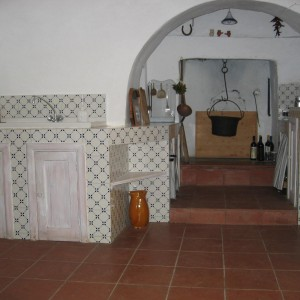 Trullo Bianco - Cucina e Living Room